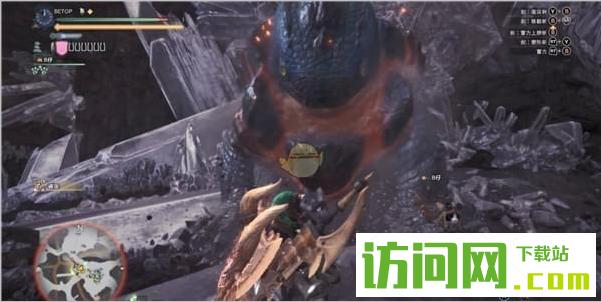 怪物猎人世界岩贼龙弱点打法攻略