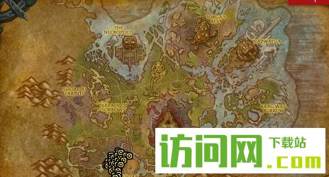 魔兽世界8.0绿色刀兽王怎么获得