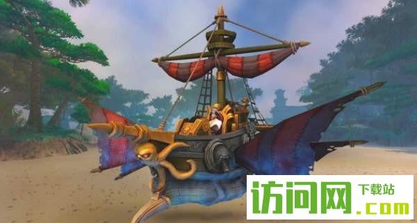 魔兽世界8.0惊魂号坐骑获得攻略