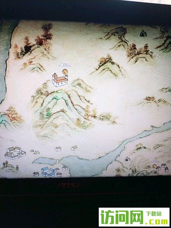 河洛群侠传噶玛寺具体位置在哪里