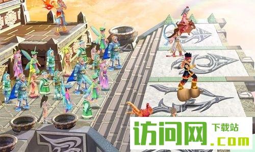 《幻想三国志4外传》故事背景世界观