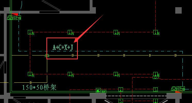 广联达安装算量GQI中一根CAD线表示两根管如何识别