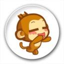 嘻哈猴qq表情包